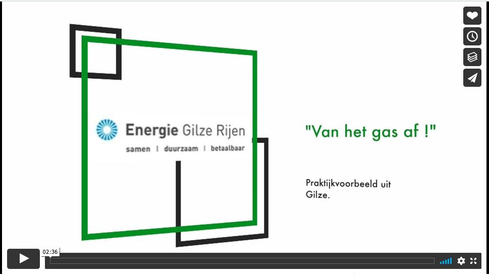 Vimeo-filmpje 'Van het gas af'